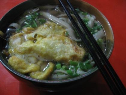 hand-cut  noodle soup