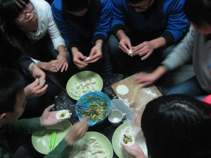 jiaozi party