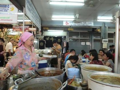 Malaysian halal food stall