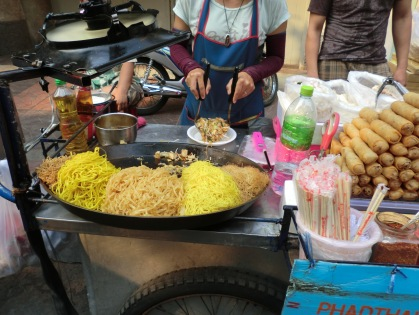 Pad Thai street cart