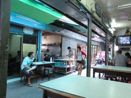 Toney's cafe in Pahurat