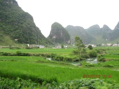 Debao landscape