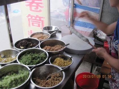 rolling the juan tong fen