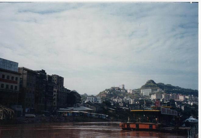 Wanzhou harbor, 2000