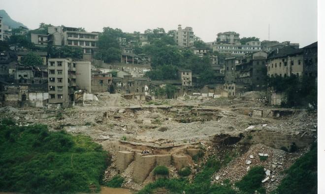 Wanzhou construction