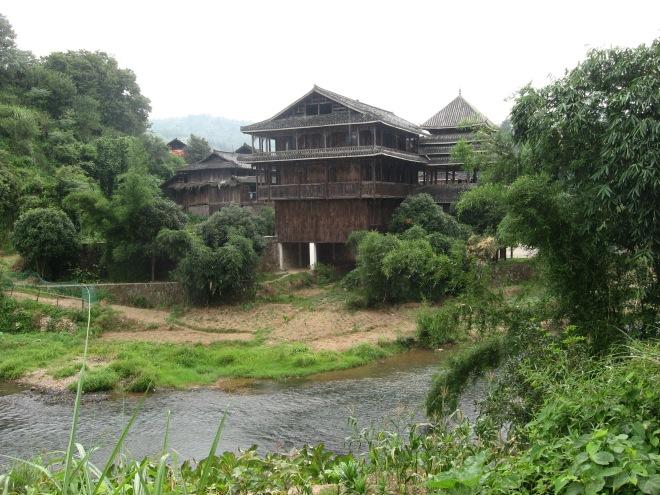 wooden building