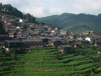 village and terraces