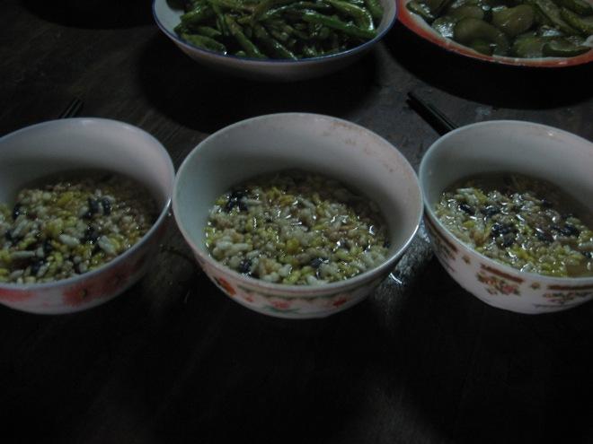 oily tea soup