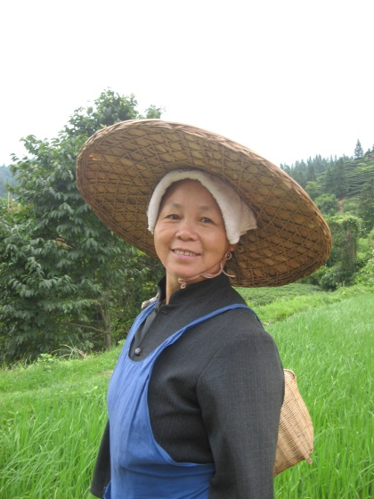 My student's mother-in-law.  I stayed in her home for a few days.