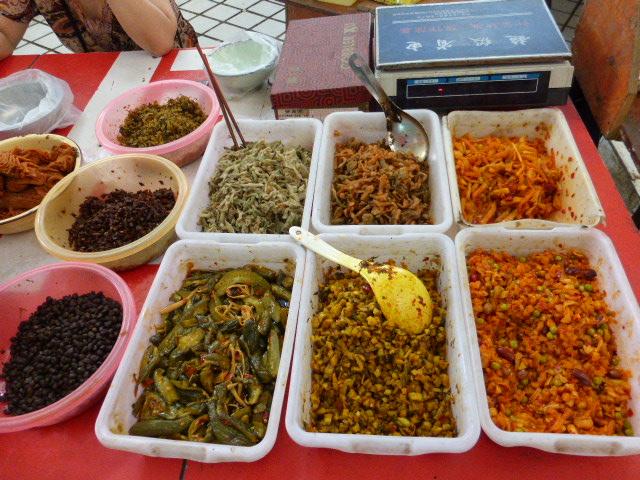 various pickled things