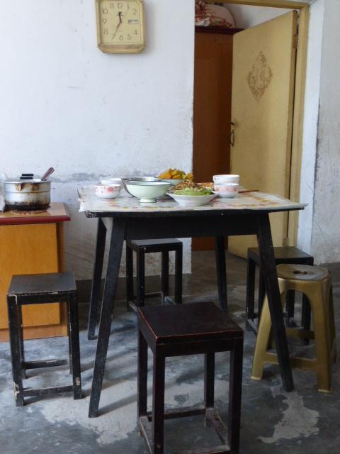 grandma's table