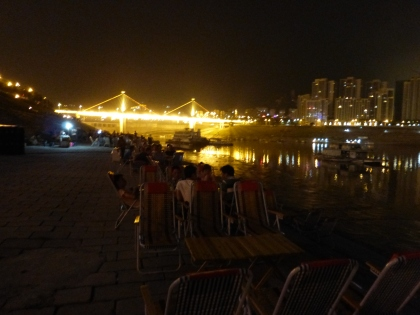 Wanzhou riverwalk 2013