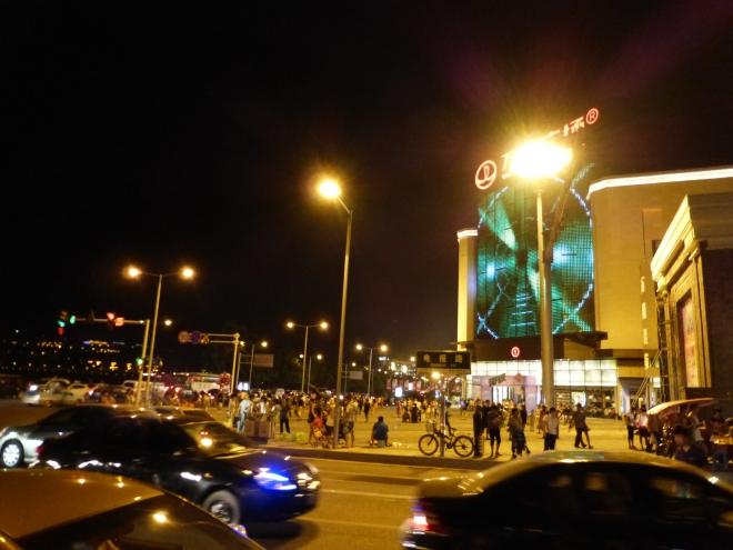 new Wanzhou waterfront, 2013
