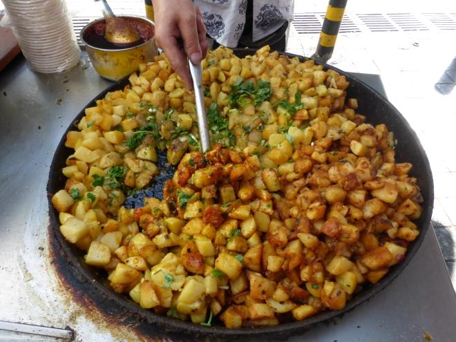 Wanzhou street potatoes