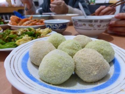 Korean mochi