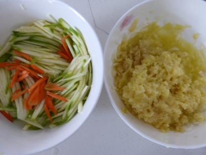 vegetables for Korean pancakes